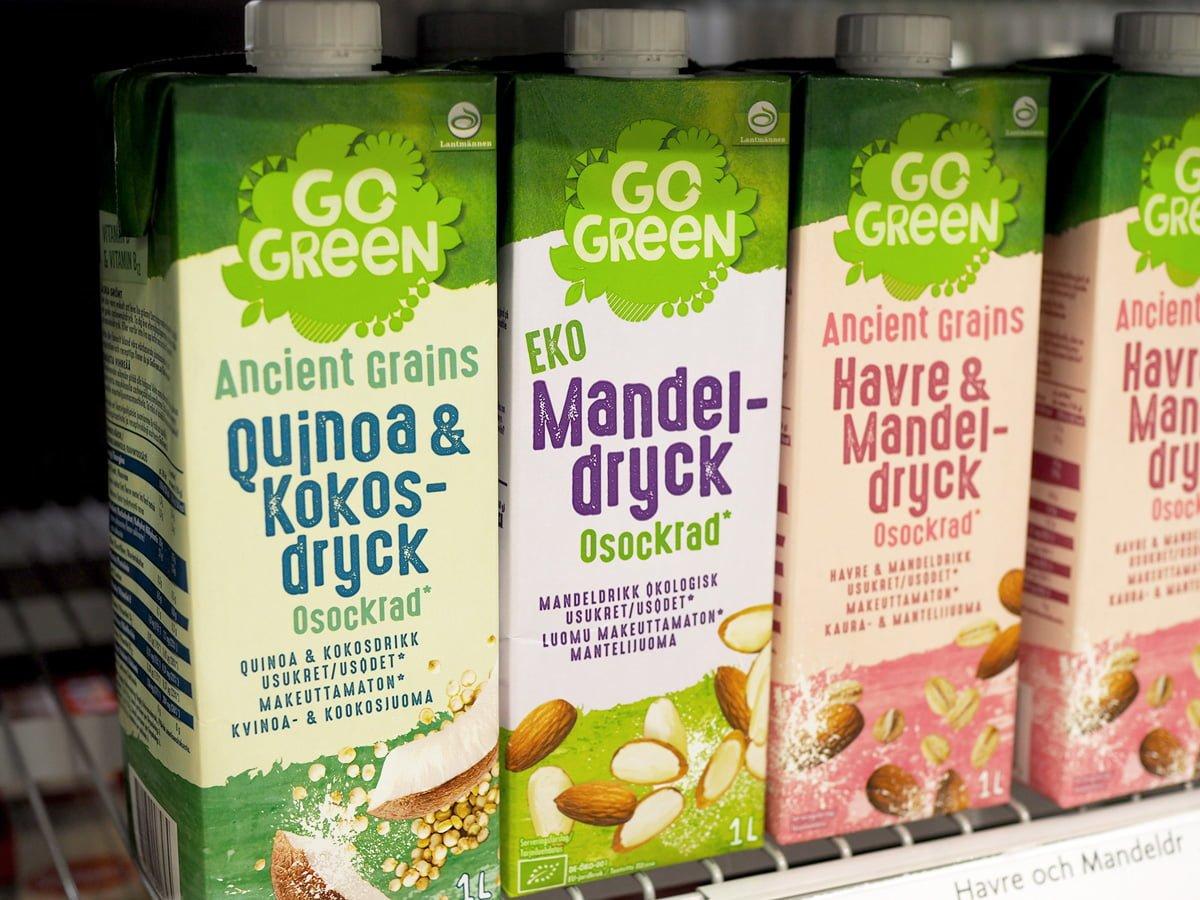 go green nötmjölk