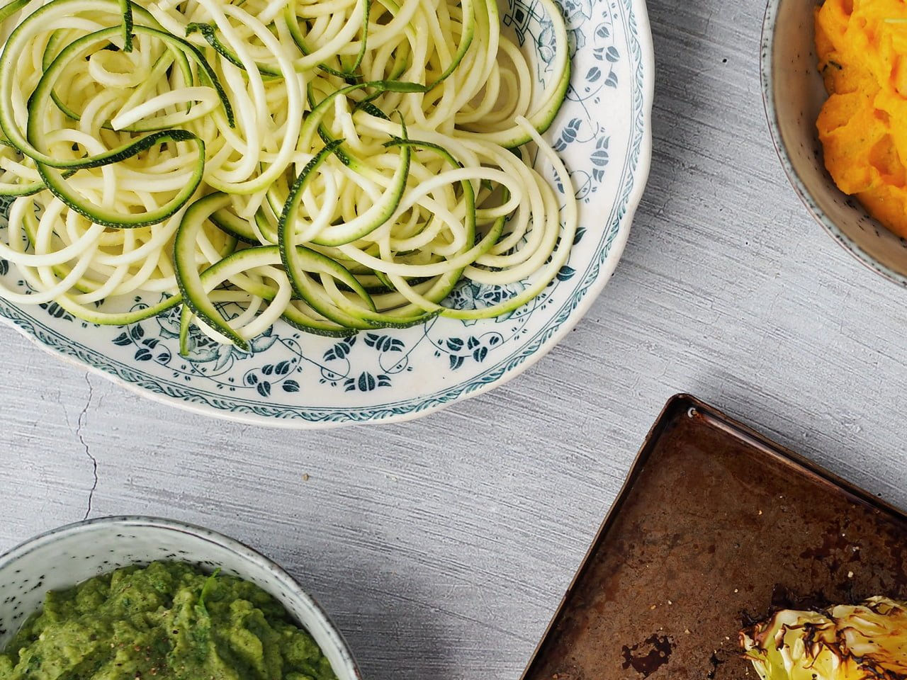 zucchinipasta zoodles