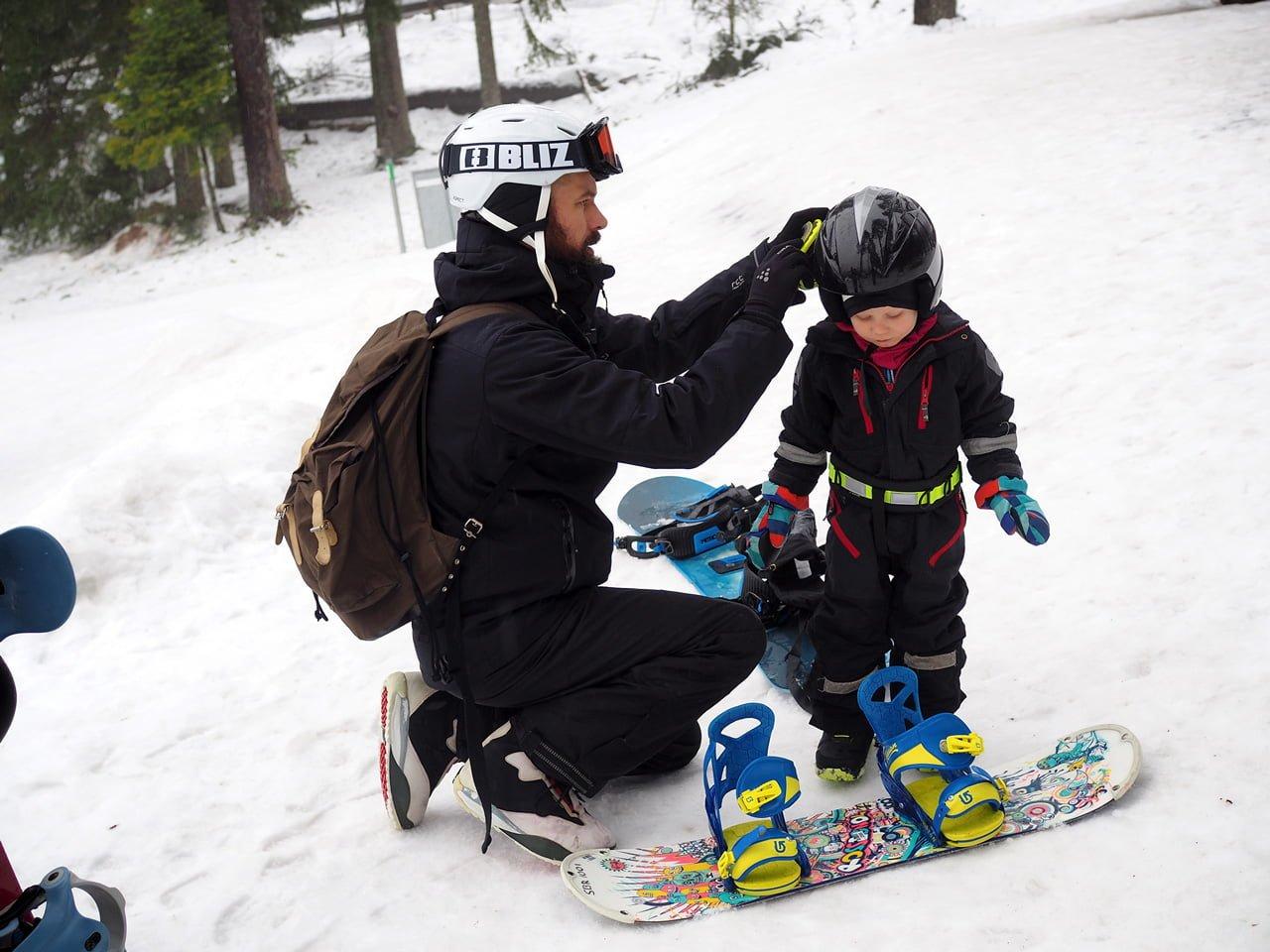 snowboard isaberg barn