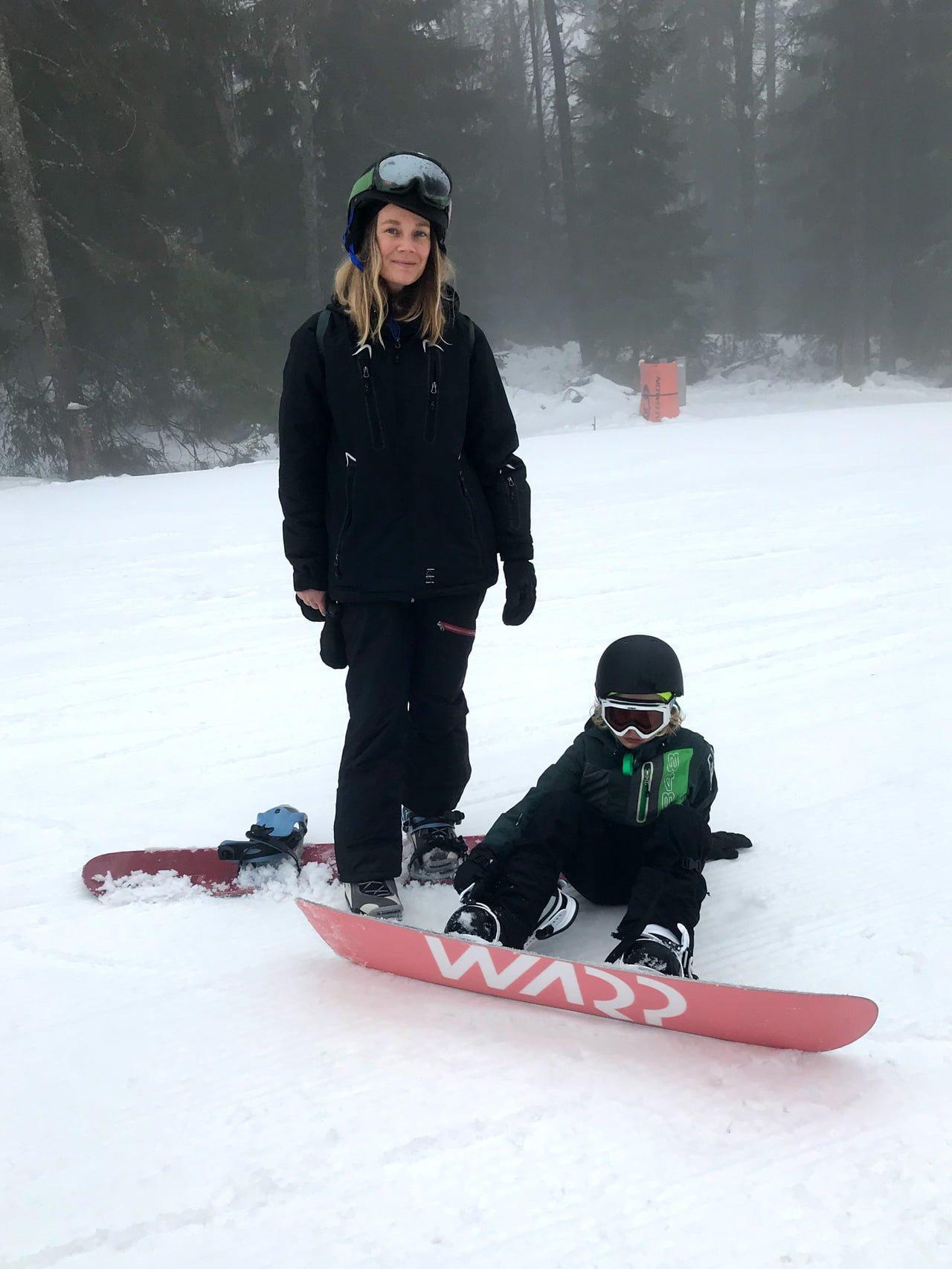 snowbord isaberg