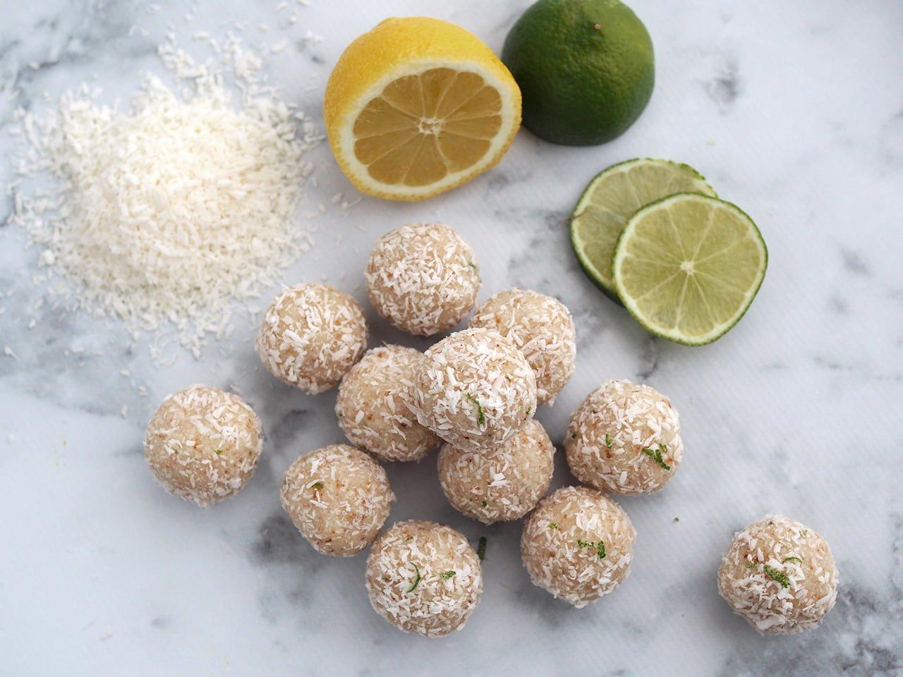 syrliga kokoskulor