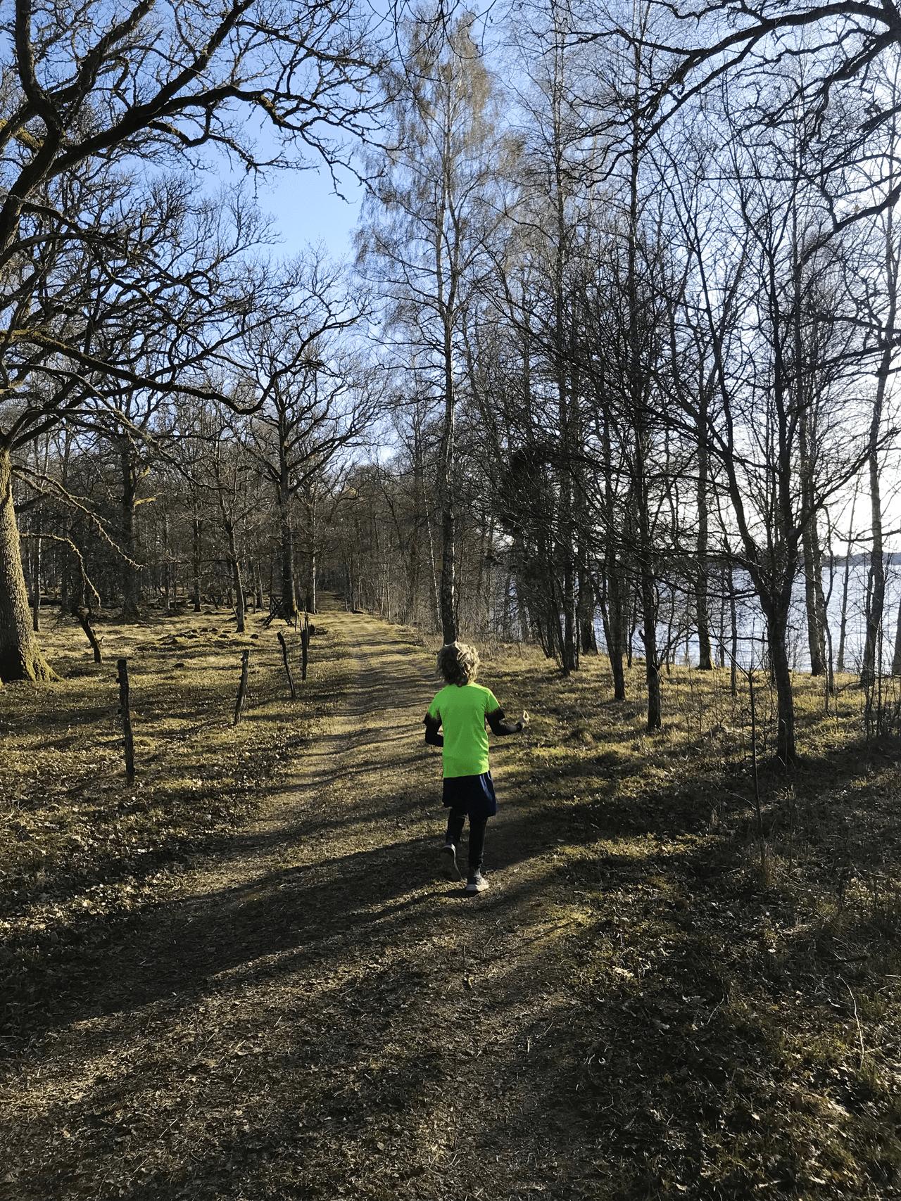 löpning barn hofsnäs