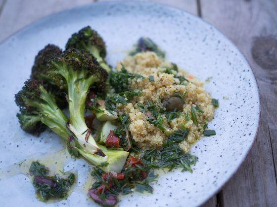 quinoa broccoli