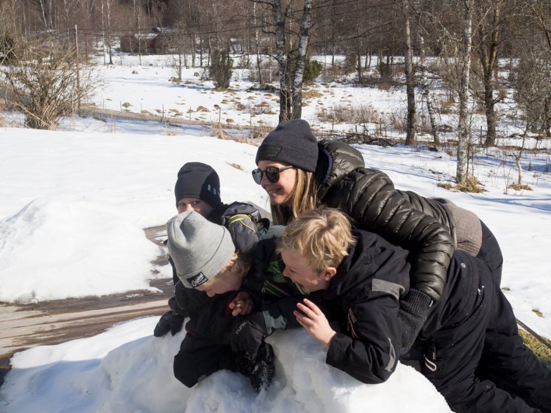 utomhusaktiviteter barn