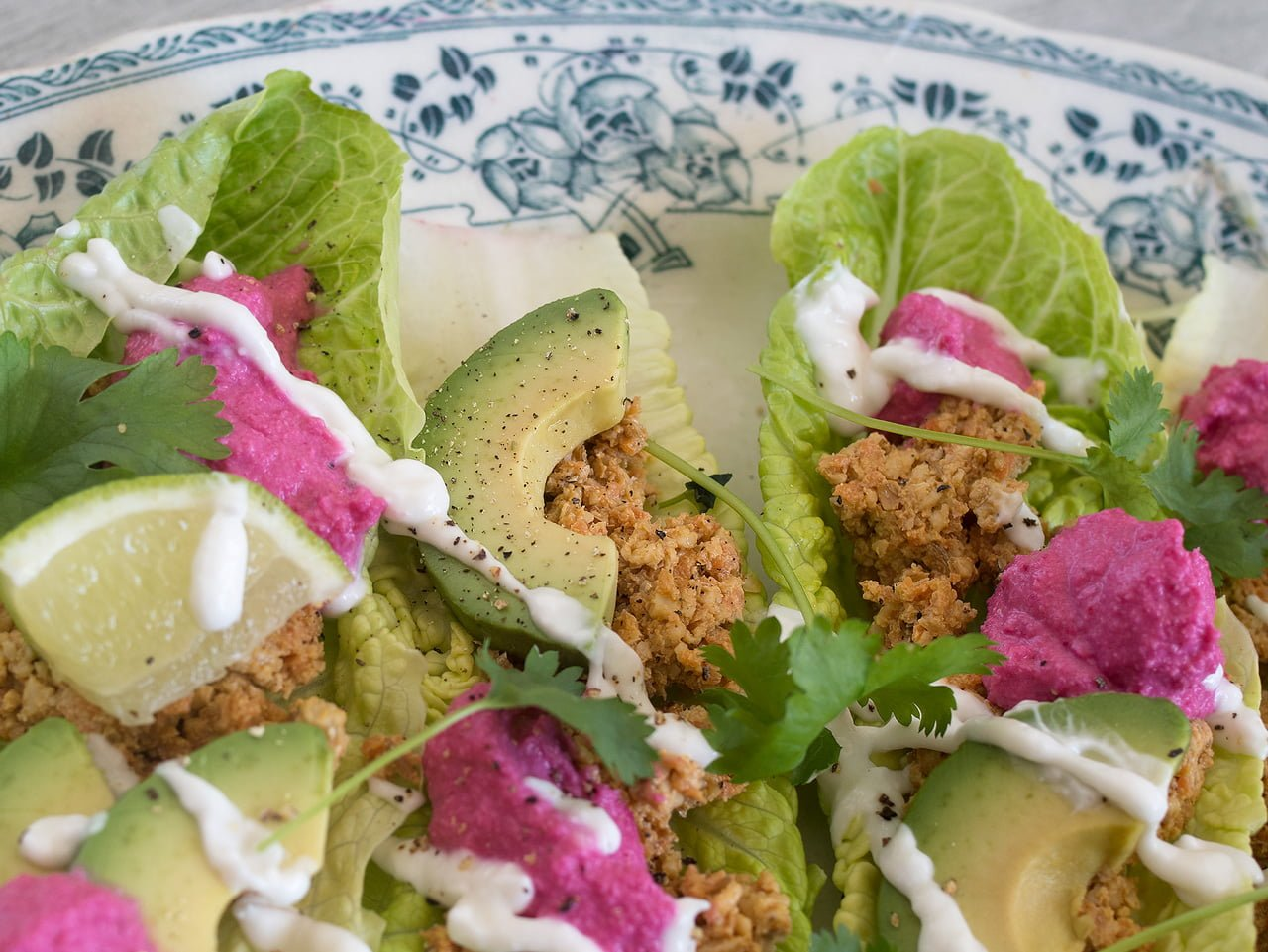valnötsfärs raw taco