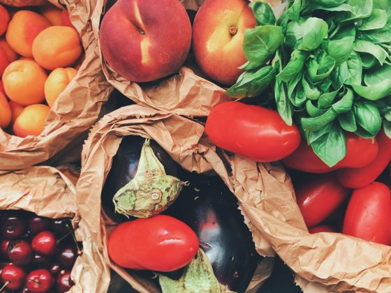 besprutade frukter