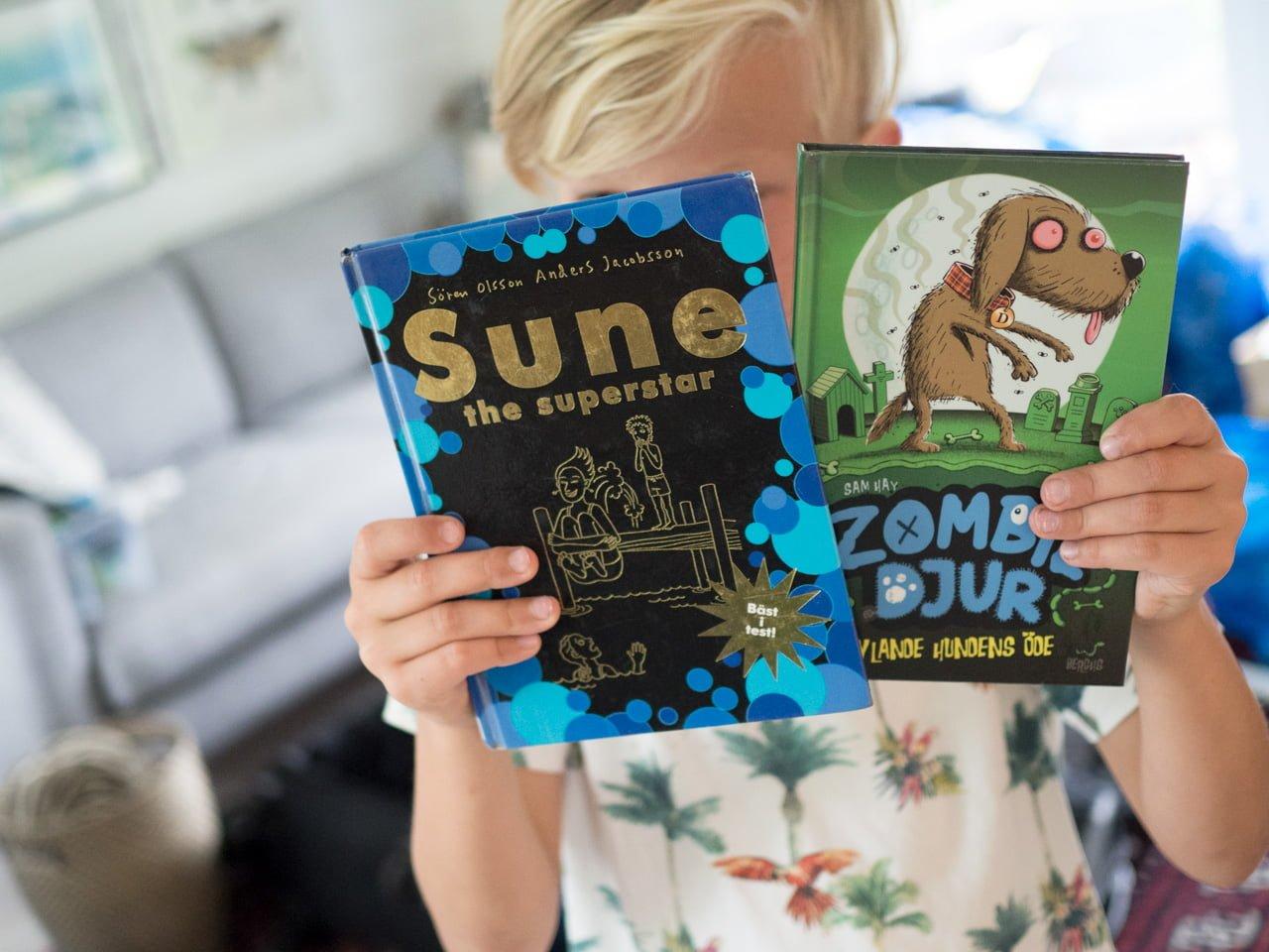 lässommar packning bali barnböcker