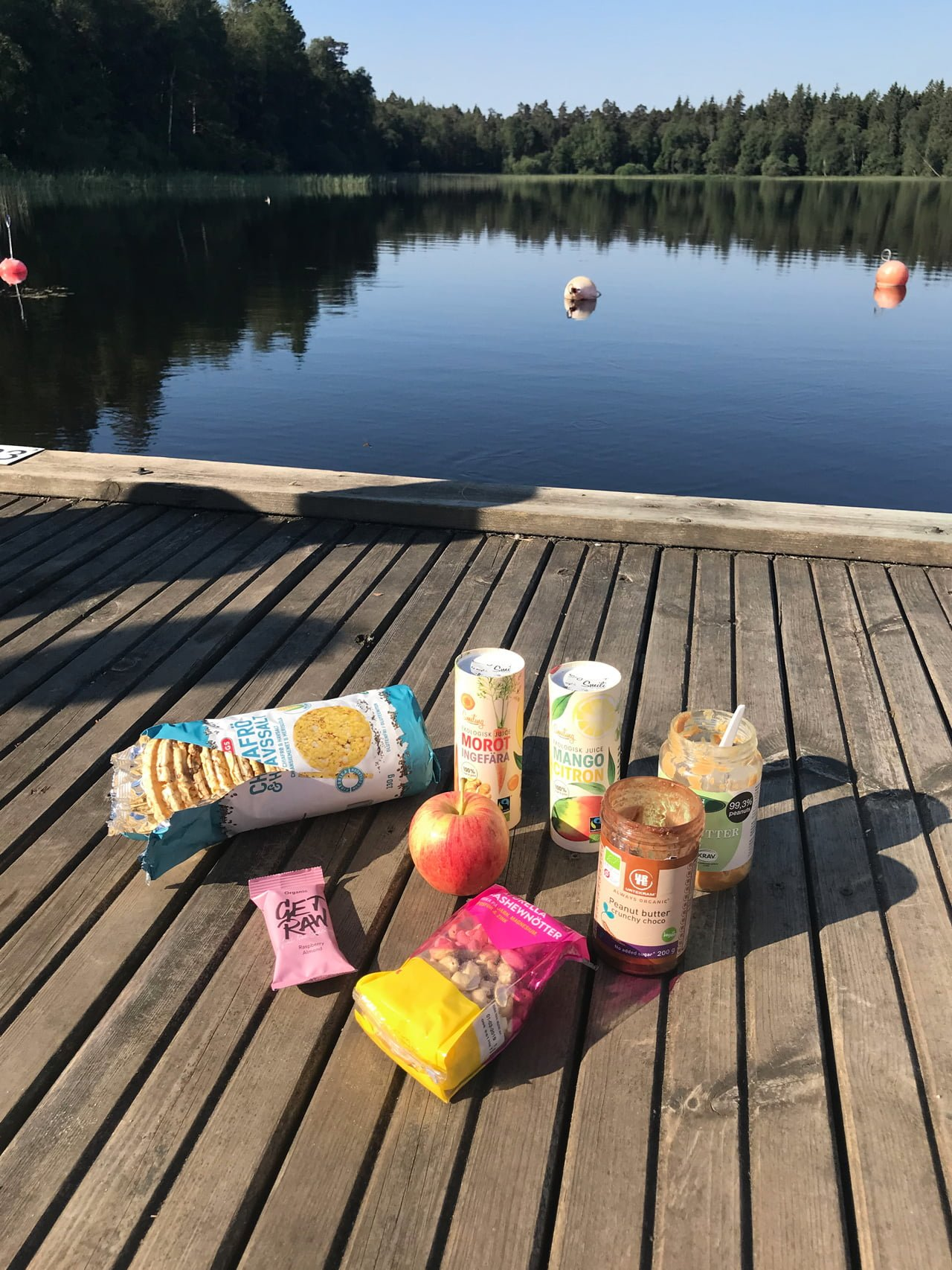 nyttig frukost camping