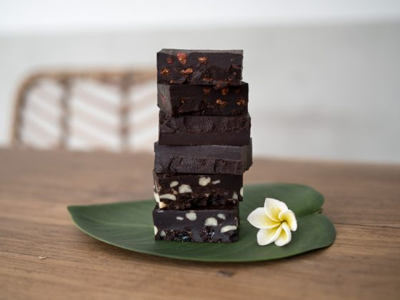 mörk choklad yaconsirap