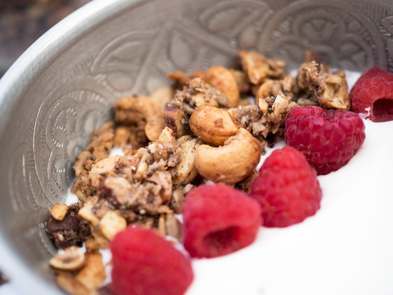 hemmagjord glutenfri granola