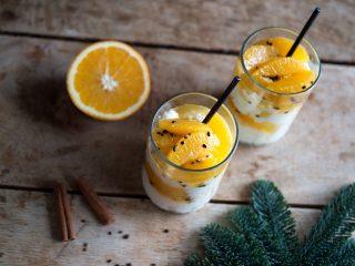Kokosjulgröt med apelsin och kardemumma