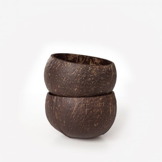 liten kokosnötsskål