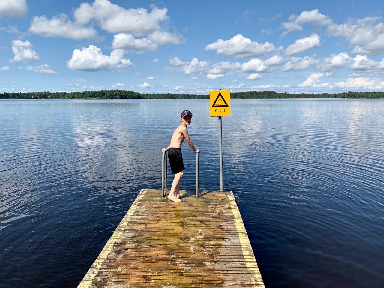 hofsnäs badplats sid