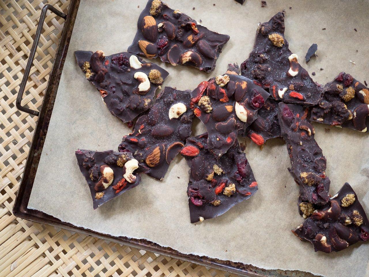 mörk choklad med kakaosmör