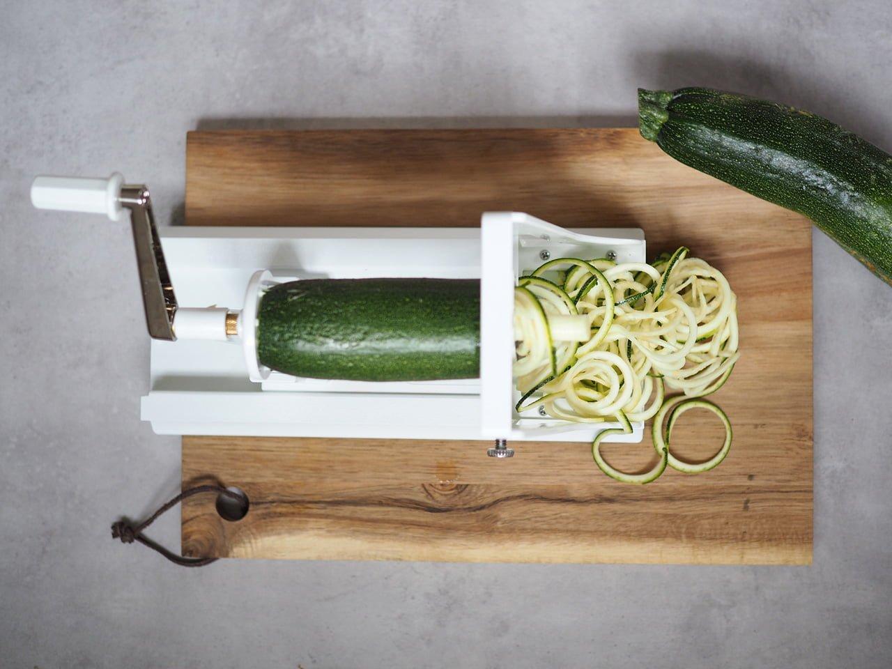 zoodles med grönsakssvarv cervera