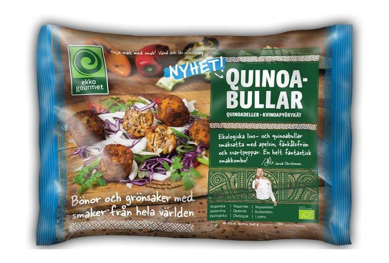 Glutenfria vegetariska biffar quinoabullar
