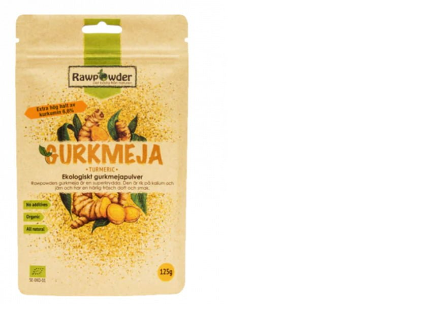 ekologisk gurkmeja nyttiga smaksättare