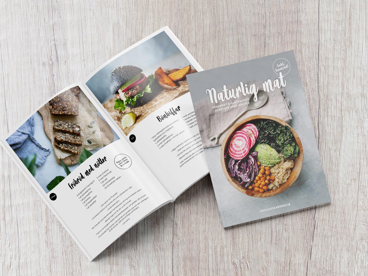 e-bok naturlig mat veganskt