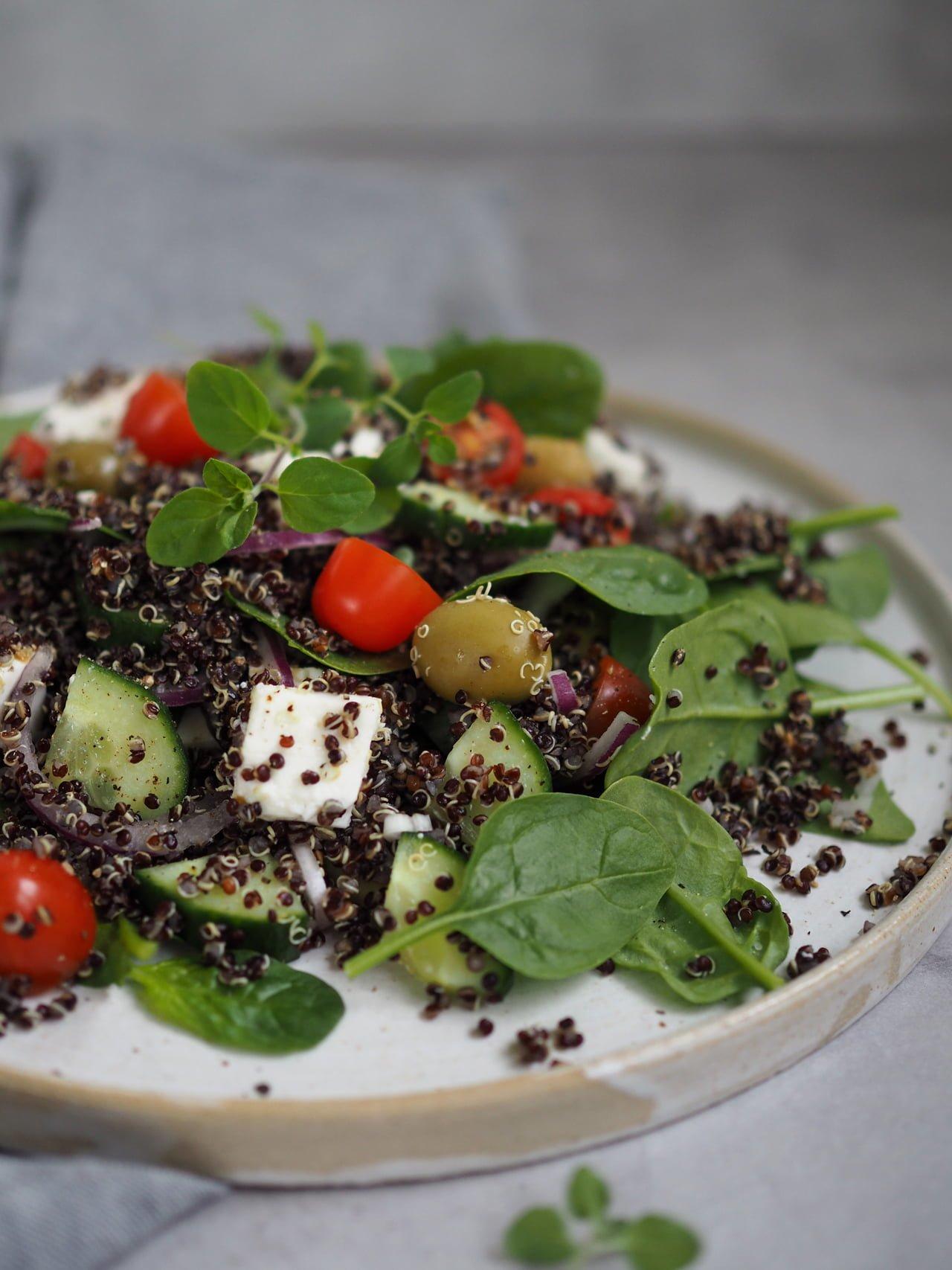 sallad med quinoa