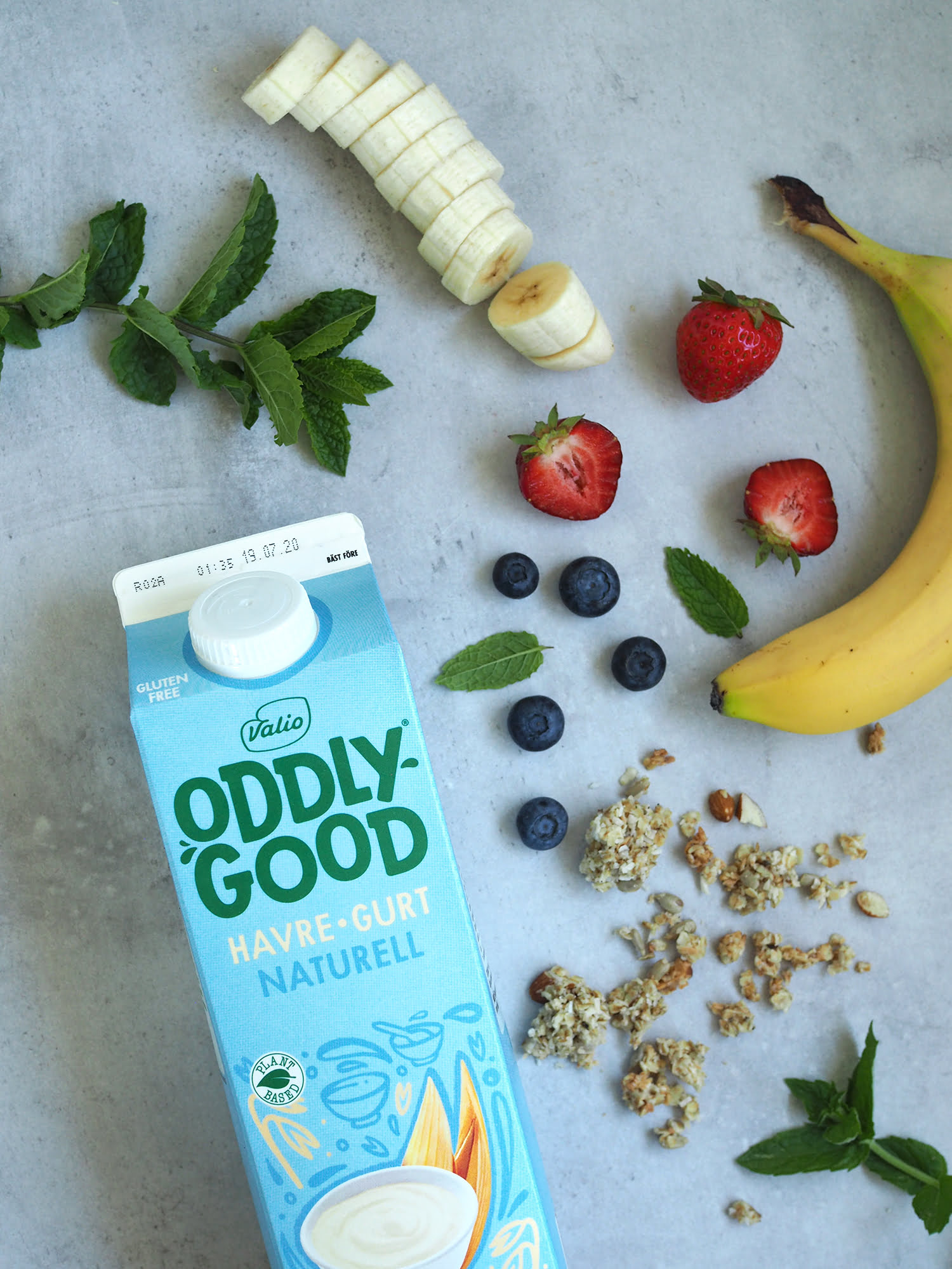 oddlygood frozen smoothie