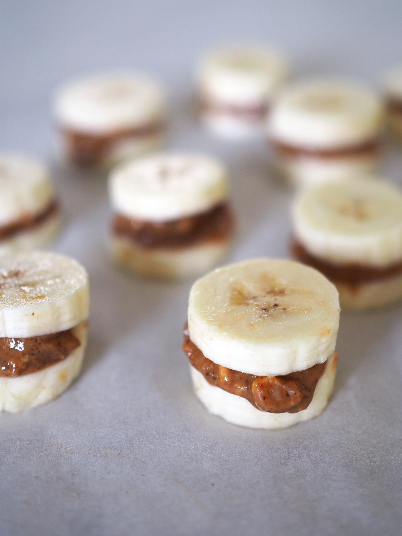 chokladdoppad banan