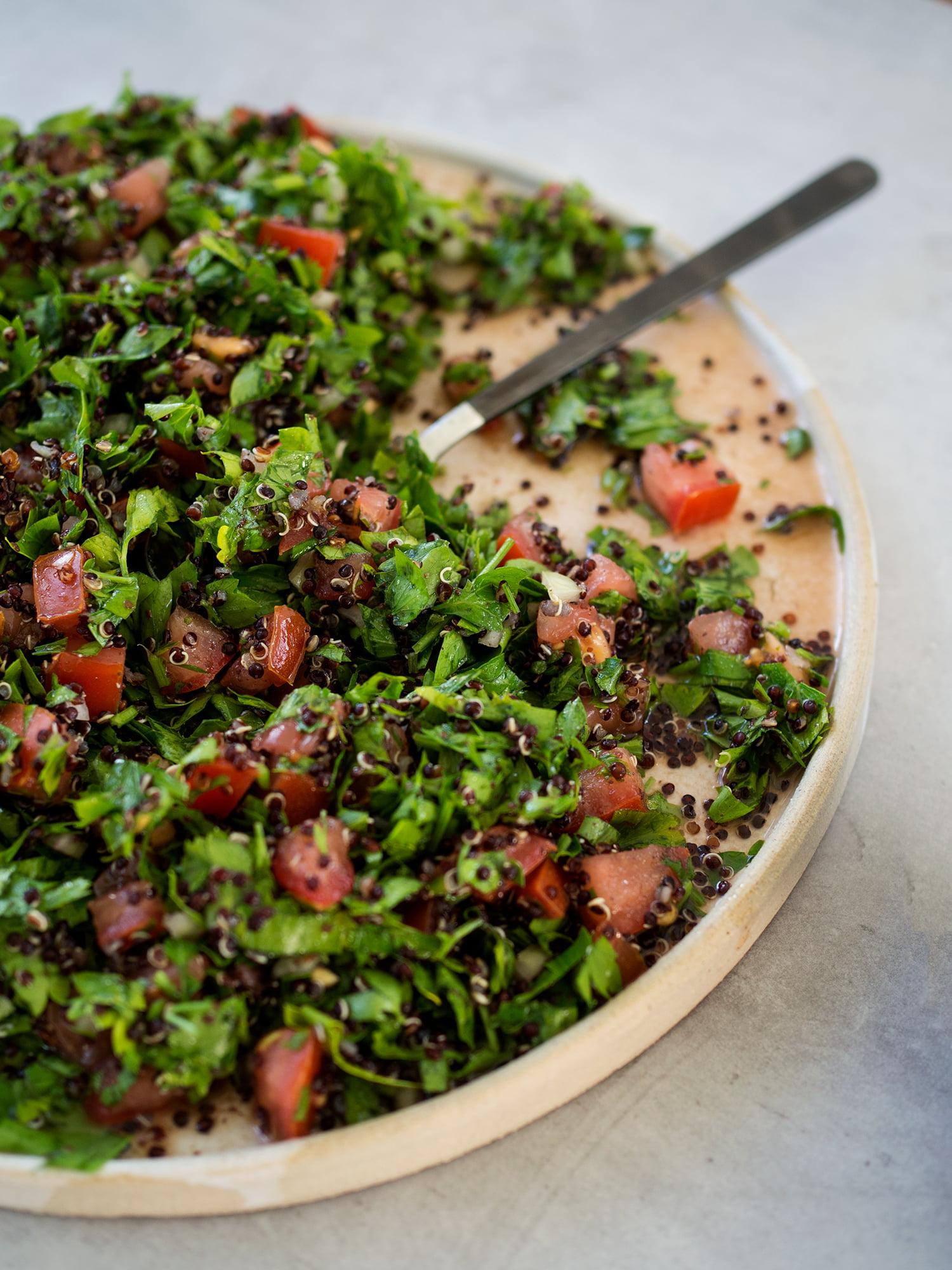 tabbouleh quinoa
