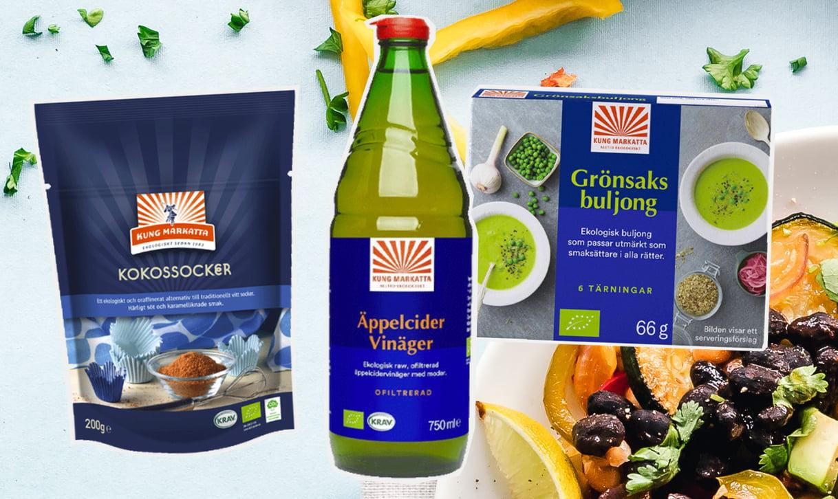 hälsosamma livsmedel kung markatta