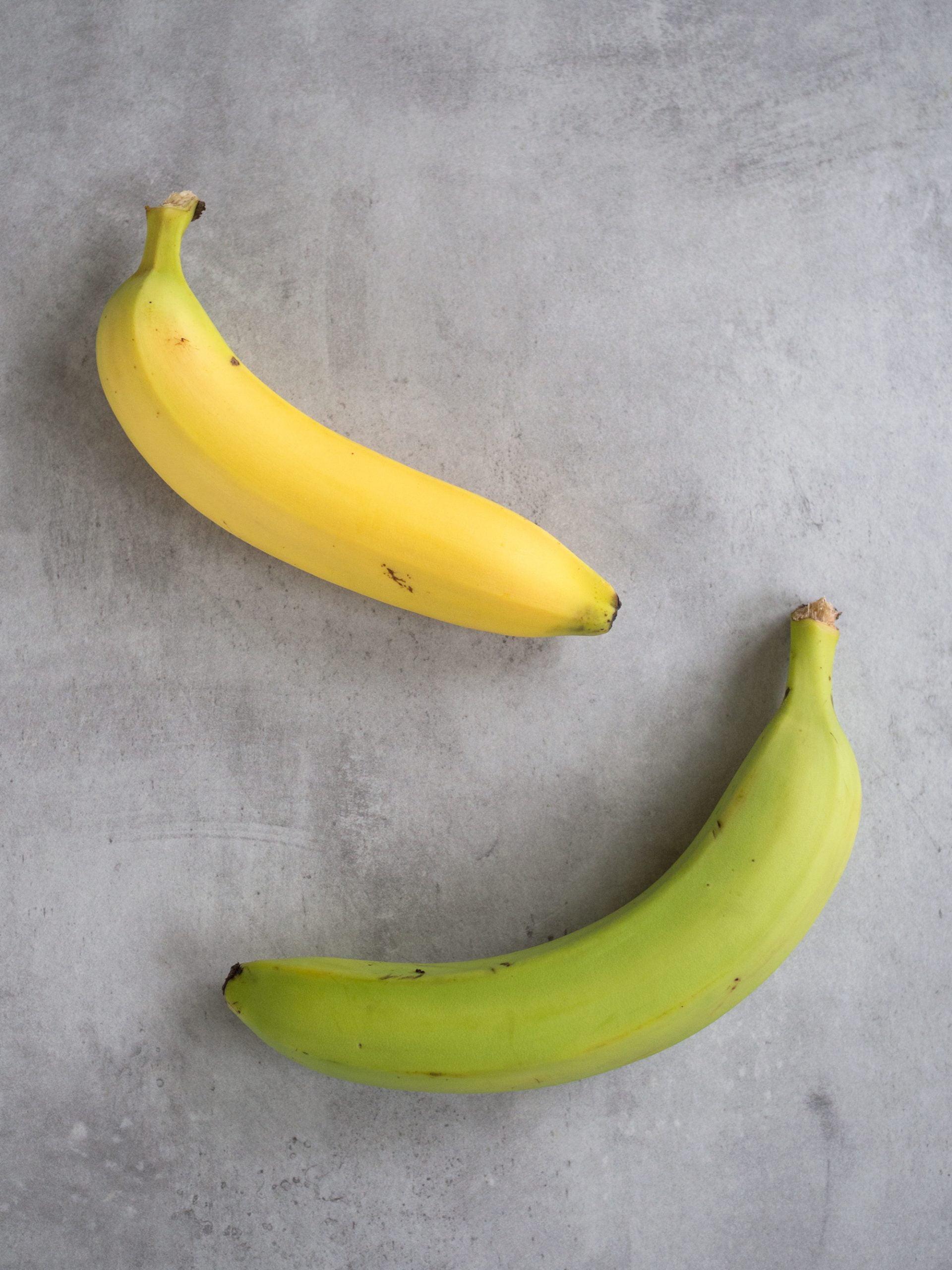 gröna bananer gula bananer