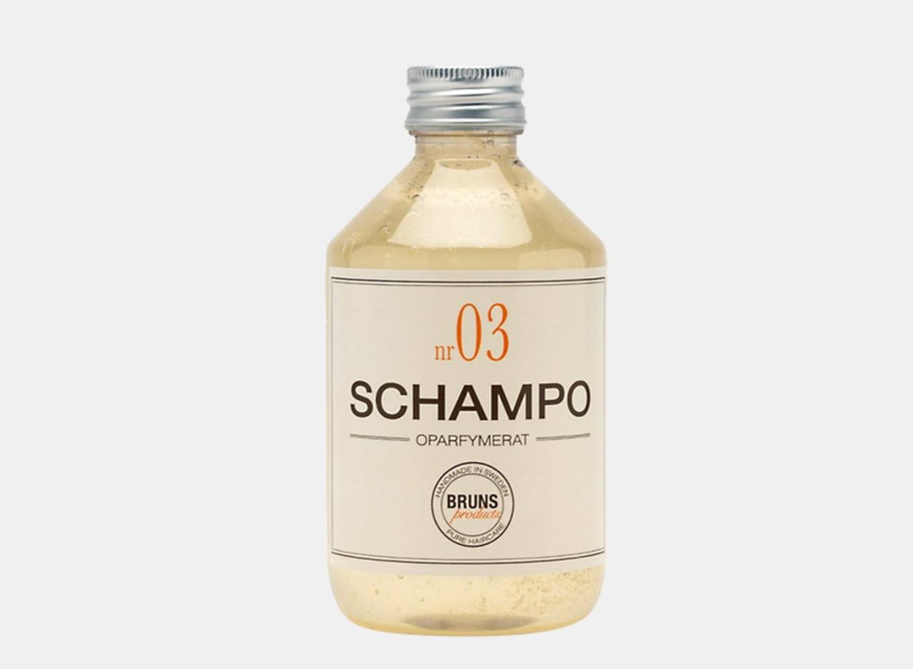 torr hårbottenbruns schampo