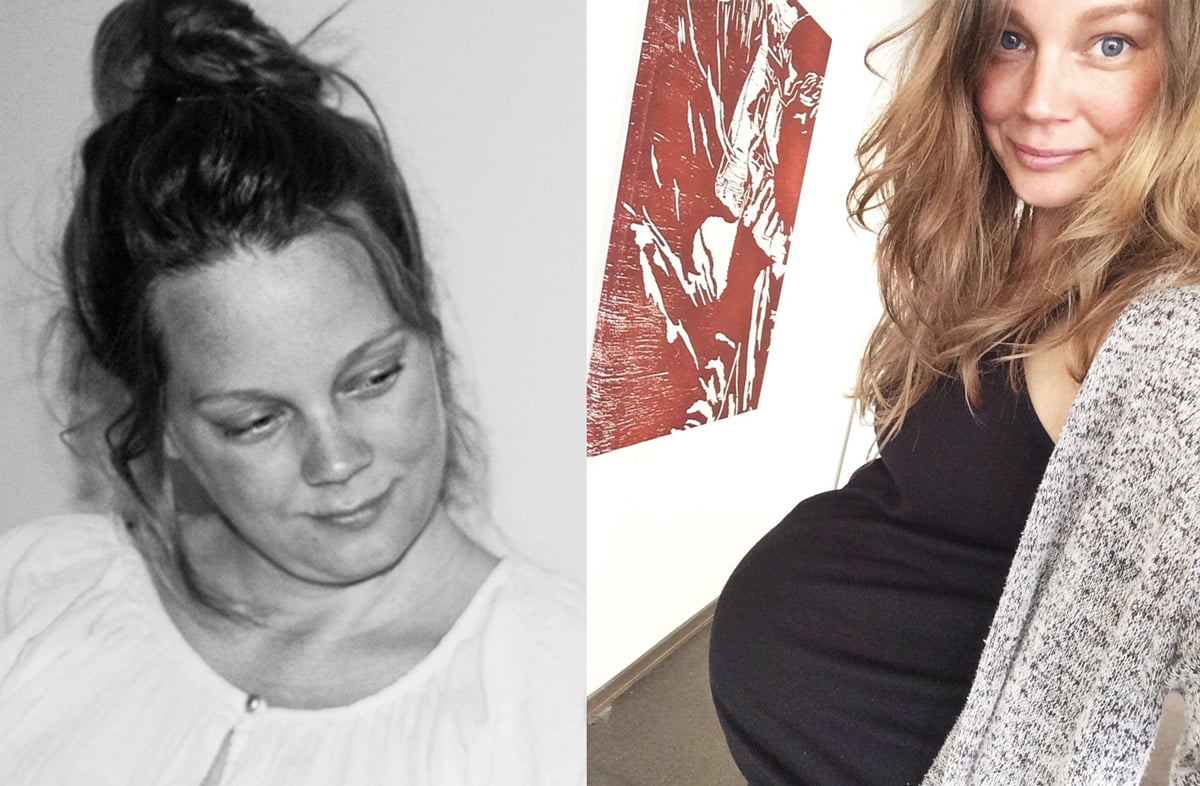 cecilia folkesson graviditet