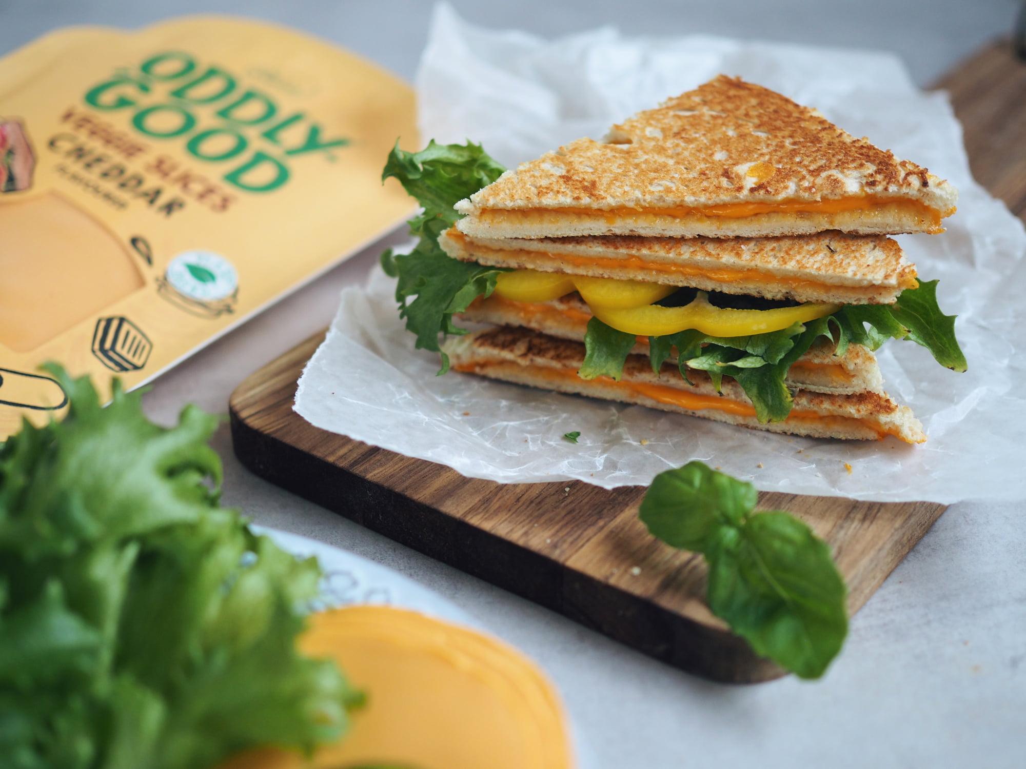 glutenfria toasts veggie slices