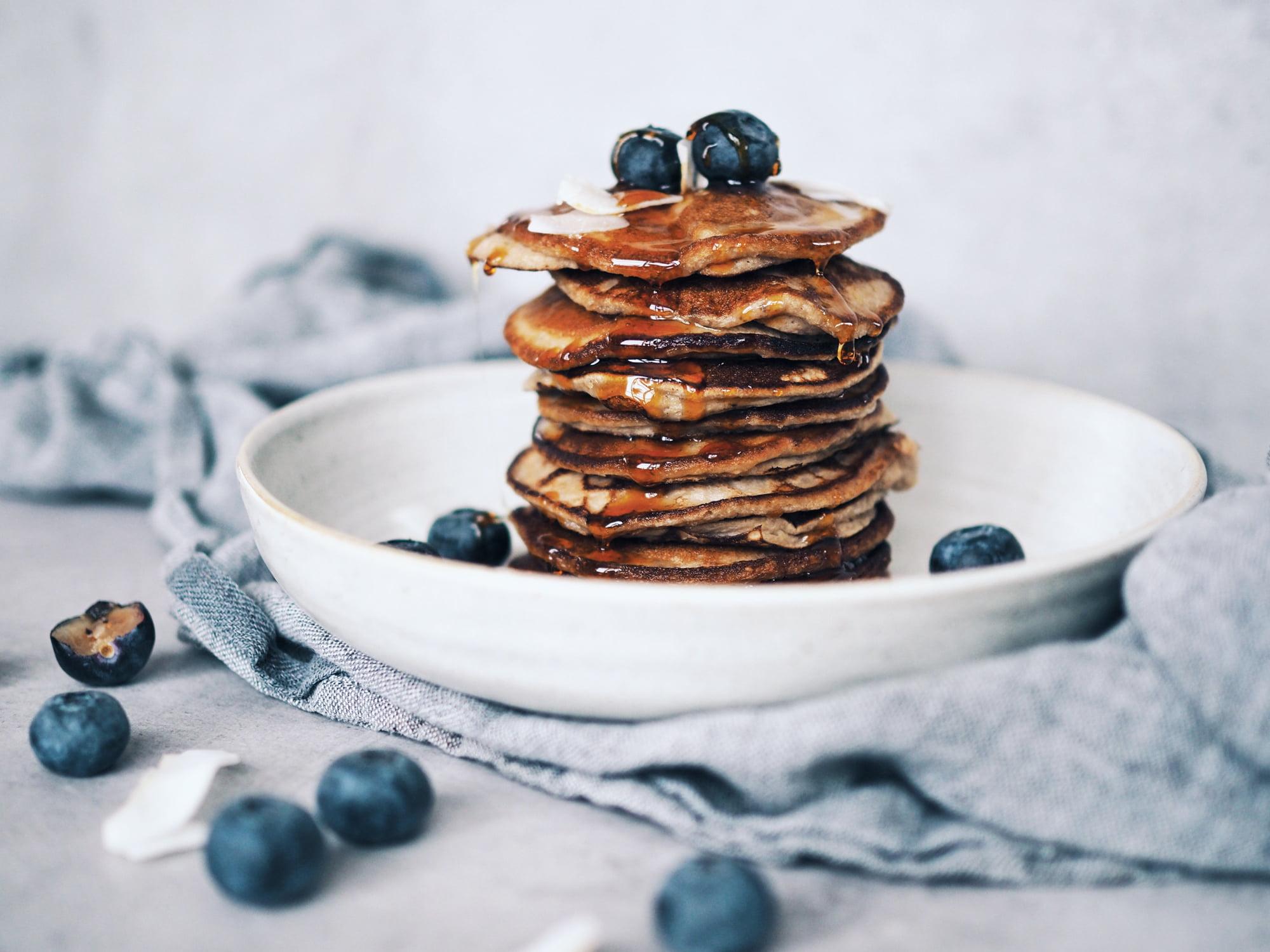 Glutenfria frukostar