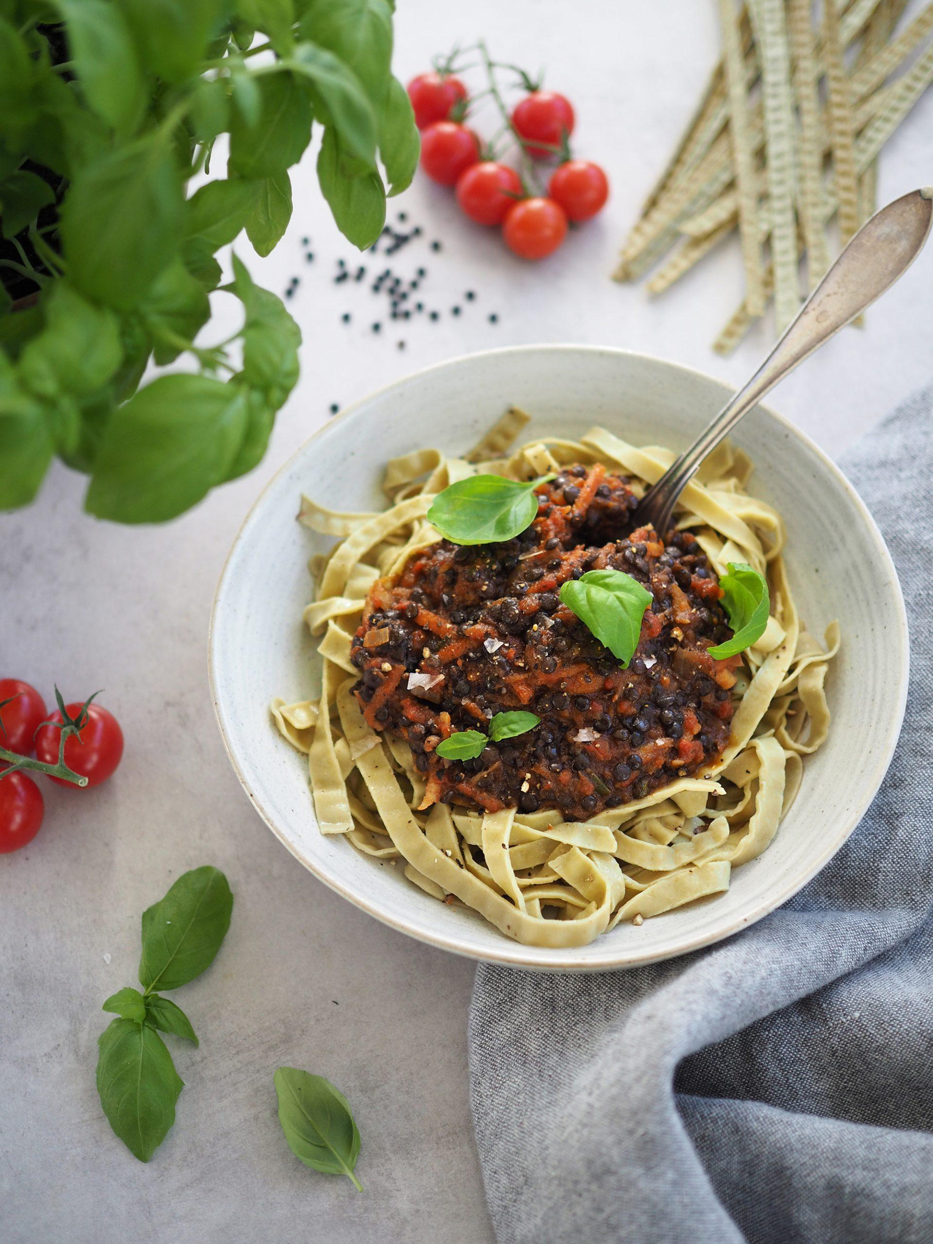 vegansk bolognese