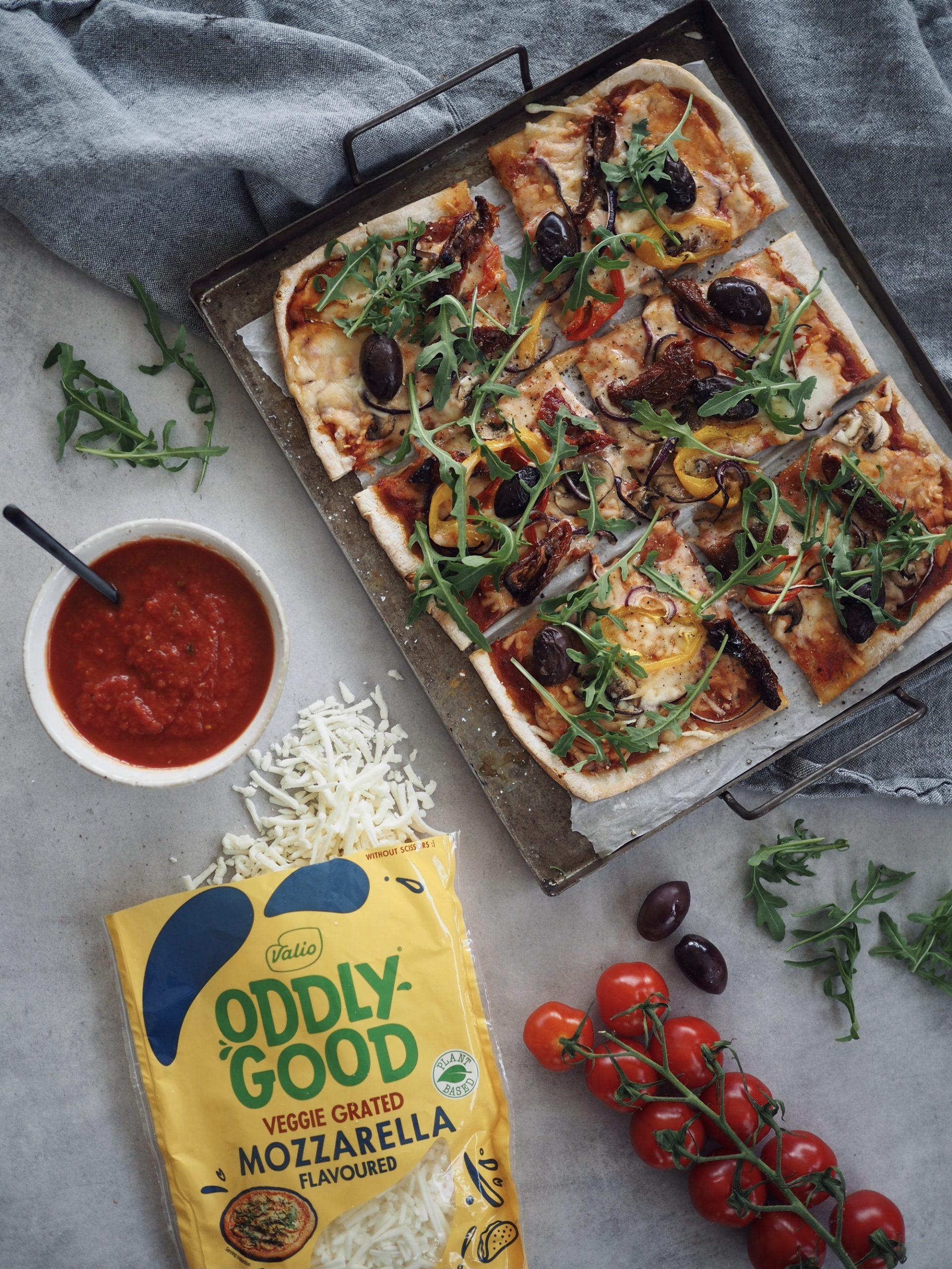 Vegansk glutenfri pizza