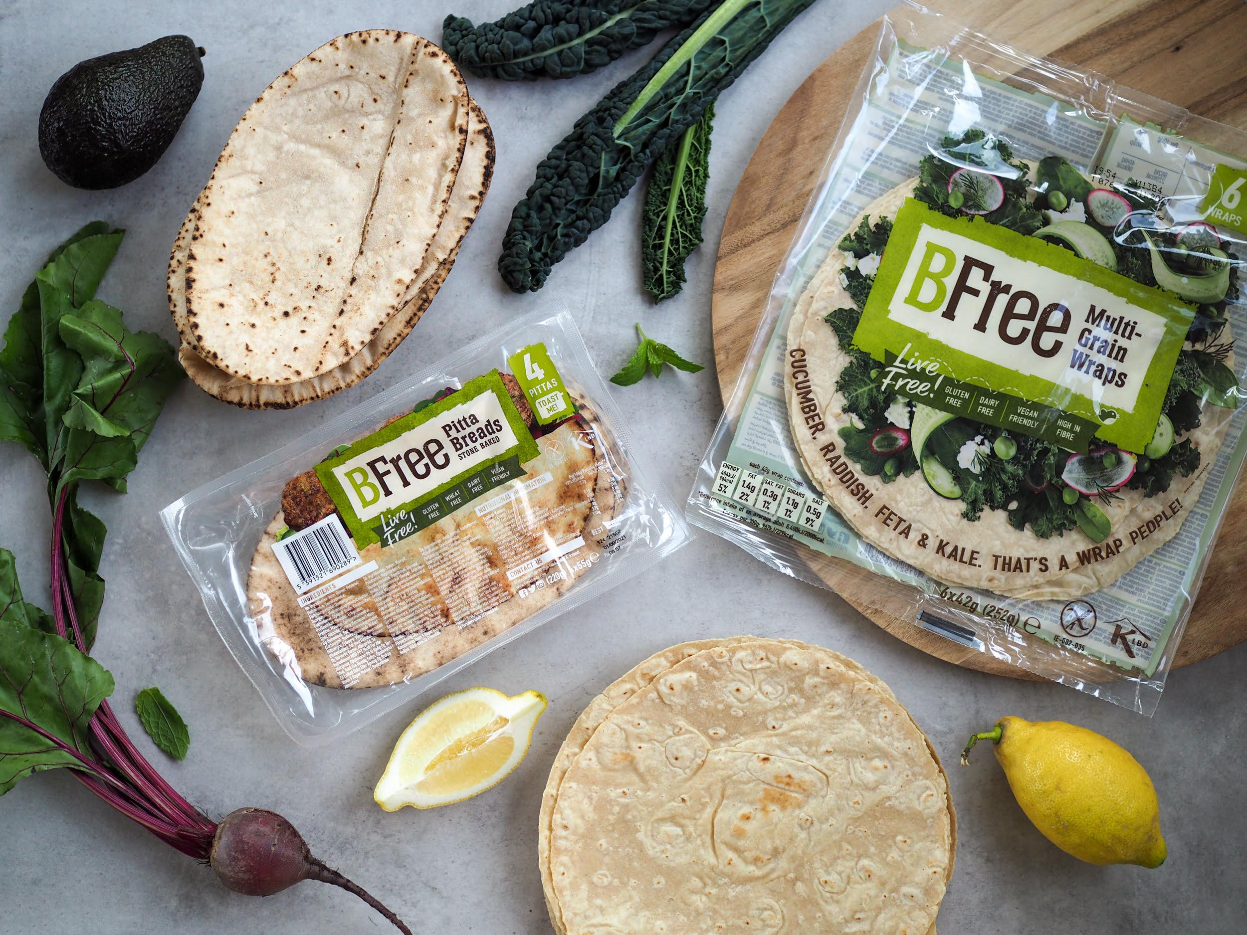 Glutenfria wraps Pitta Breads BFree