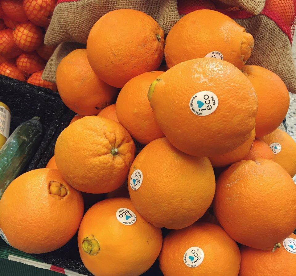 apelsiner eko