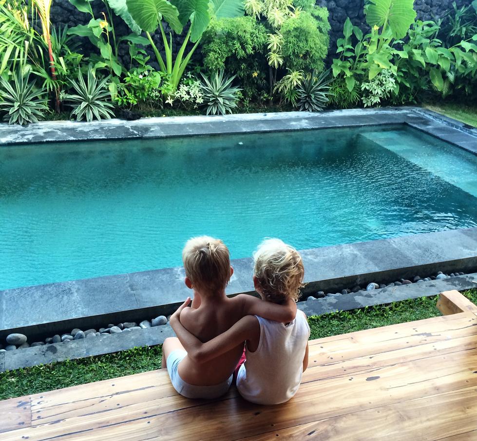 bali - resa med barn