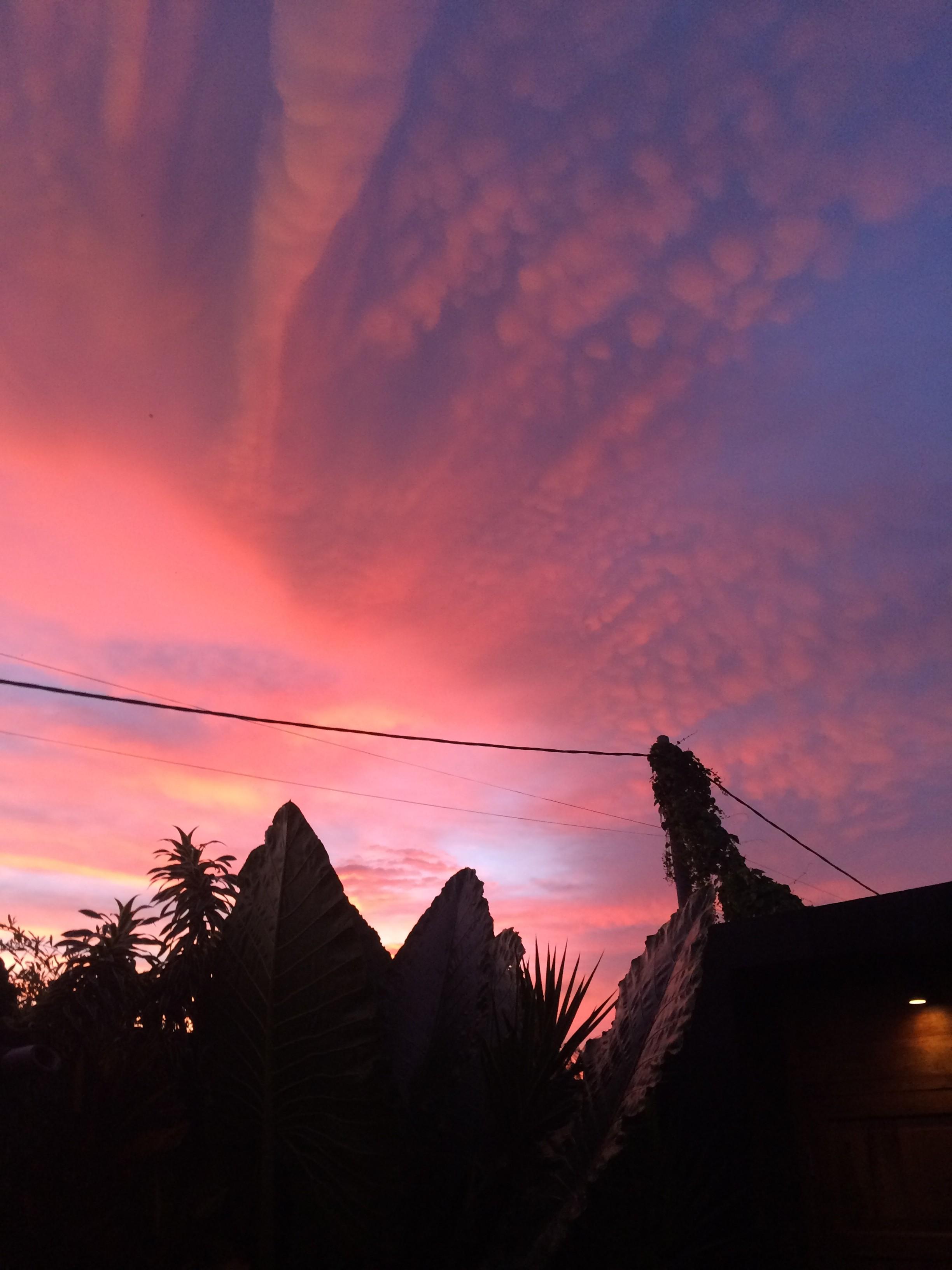 sunset batu bolong bali