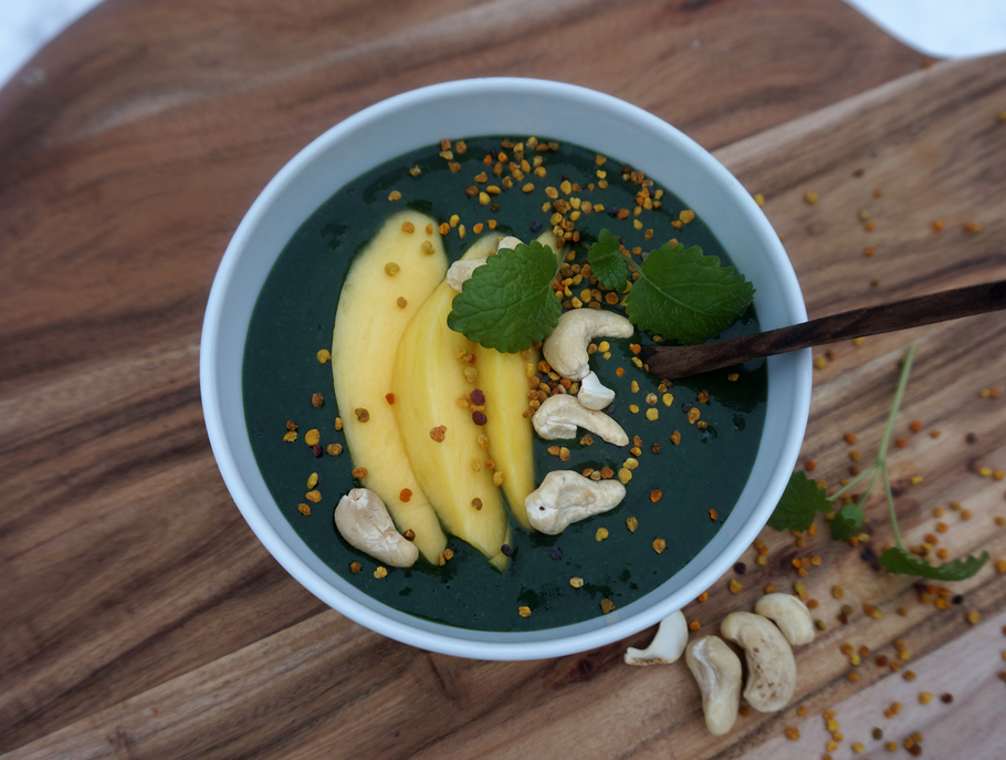 chlorella smoothiebowl