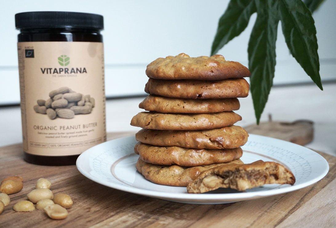 glutenfria peanut butter cookies